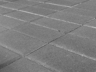 Тротуарная плитка BRAER Прямоугольник Серый, 80 мм