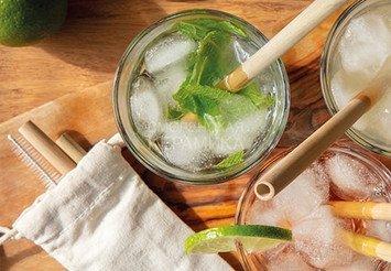 Экотрубочки для напитков /EcoGreen Straws 2