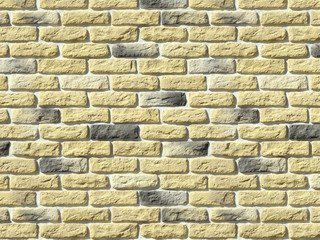 "315-30 White Hills ""Брюгге брик"" (Brugge brick), желтый, плоскостной, Нормативная ширина шва 1,2 см."