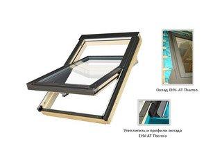 Мансардное окно FTT U8 с окл. EHV-AT + XDK Fakro 114х118 + XDK