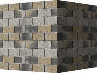 "531-85 White Hills ""Ленстер"" (Leinster), светло-серый, угловой, Нормативная ширина шва 1,5 см."