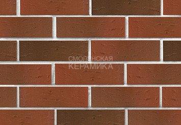 Кирпич лицевой керамический ЛСР Красный флэш рустик, 1НФ 2