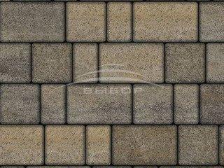 """Тротуарная плитка Выбор """"Искусственный камень"""", СТАРЫЙ ГОРОД Базальт"""