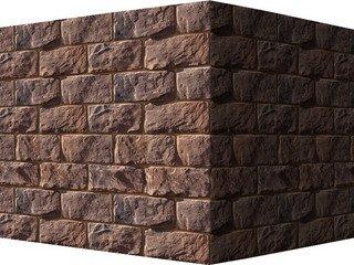 "432-45 White Hills ""Шеффилд"" (Sheffield), темно-коричневый, угловой, Нормативная ширина шва 1,5 см."