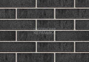 Кирпич керамический глазурованный RECKE GLANZ 0,7НФ арт. 3-38-00-1-00 черный 1