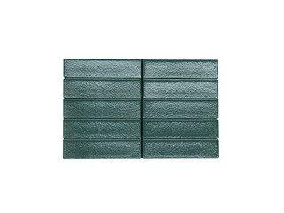 Кирпич керамический глазурованный RECKE GLANZ 1НФ арт. 5-28-00-0-00 зеленый
