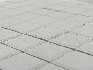 Тротуарная плитка Braer лувр белый 100х100х60