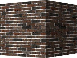 "304-65 White Hills ""Лондон брик"" (London brick), коричневый, угловой, Нормативная ширина шва 1,2 см."