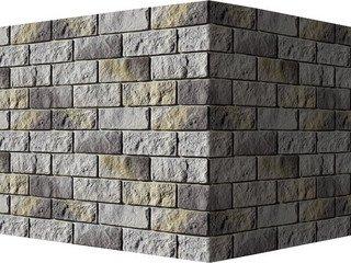 "416-85 White Hills ""Лорн"" (Lorne), светло-серый, угловой, Нормативная ширина шва 1,5 см."