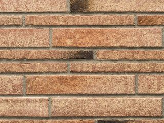 Клинкерная плитка фасадная- 357 backstein Stroeher Рядовая 115x240+71 толщина 14