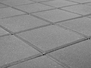 Тротуарная плитка BRAER Лувр, Серый (100х100х60)