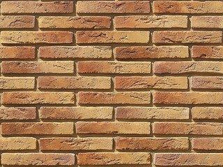 "380-60 White Hills ""Остия Брик"" (Ostia Brick), медный, плоскостной, Нормативная ширина шва 1,2 см."