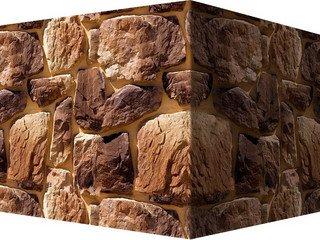 "611-45 White Hills ""Рока"" (Roca), коричнево-медный, угловой, Нормативная ширина шва 1,5 см."