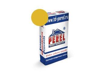 Цветная кладочная смесь Perel NL 0135 желтый, 50 кг 1
