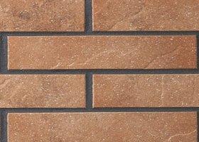 Клинкерная плитка фасадная 839 ferro Stroeher Рядовая 71x240 толщина 8