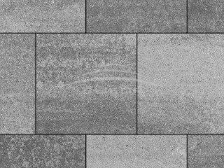 """Тротуарная плитка Выбор """"Искусственный камень"""", КВАДРУМ Шунгит"""