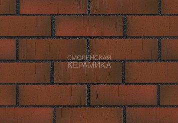 Клинкер фасадный ЛСР Возрождение «Ричмонд» красный флэш винтаж 3
