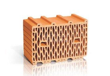 Керамический блок 10,7 НФ ЛСР рядовой поризованный 1