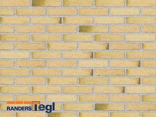 Кирпич печной полнотелый ручной формовки Randers Tegl RT 412 gelb malakit handstrichziegel