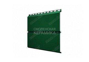 Сайдинг GL Print ЭкоБрус 0,5мм зеленый матовый 2
