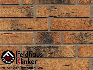 Плитка дляфасада Feldhaus Klinker R286NF9 Nolani угольный нагар