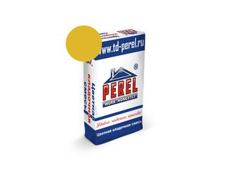 Цветная кладочная смесь Perel SL 0035 желтый, 50 кг