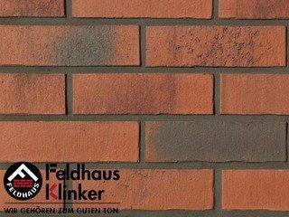Фасадная плитка Feldhaus Klinker R754NF14 vascu carmesi carbo