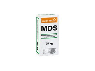 Минеральный гидроизолирующий раствор Quick-mix MDS