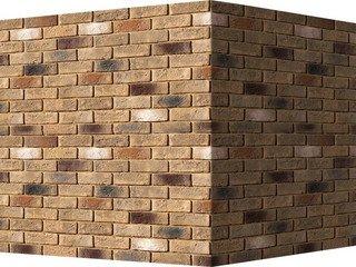 "324-45 White Hills ""Кельн брик"" (Cologne brick), коричневый, угловой, Нормативная ширина шва 1,2 см."