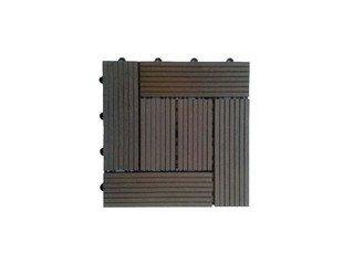 Садовый паркет CM Decking 30*30мм, серия CLASSIC (широкие полоски) коричневый