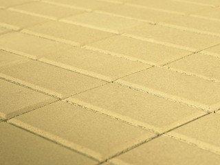Тротуарная плитка BRAER Прямоугольник Песочный, 40 мм