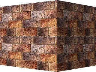 "410-45 White Hills ""Шинон"" (Chinon), коричневый, угловой, Нормативная ширина шва 1,5 см."