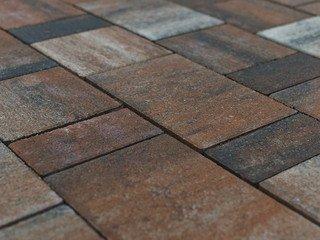 Тротуарная плитка Braer Старый город Ландхаус Color Mix Койот 60