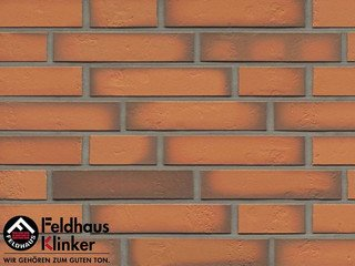 Клинкерная плитка Feldhaus Klinker R718DF14* accudo terracotta vivo