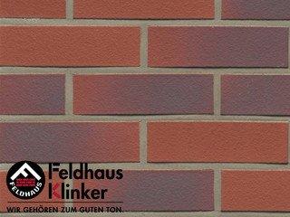 Фасадная плитка Feldhaus Klinker R356NF14 carmesi antic liso