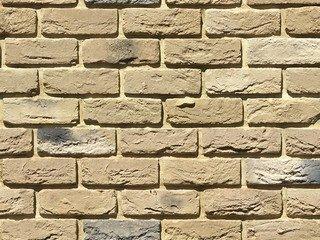 "305-21 White Hills ""Бремен брик"" (Bremen brick), песочный, тычки, Нормативная ширина шва 1,2 см."