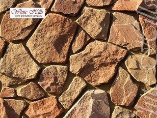 """603-40 White Hills """"Рутланд"""" (Rutland), коричнево-серый, плоскостной, Нормативная ширина шва 1,5-2,5"""