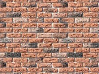 "315-50 White Hills ""Брюгге брик"" (Brugge brick), оранжевый, плоскостной, Нормативная ширина шва 1,2"