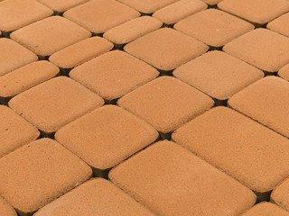 Тротуарная плитка BRAER Классико, Коралловый