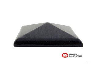 Колпак для забора ZG Clinker клинкерный керамический 380х380 темно-коричневый