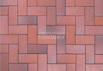 Тротуарный клинкер ABC Eisenschmelz-bunt-geflammt 200х100х52 1