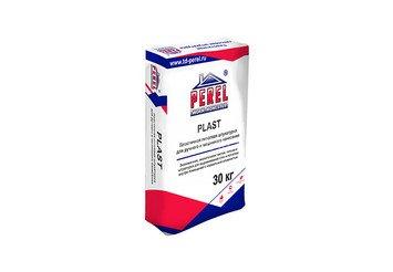 Пластичная гипсовая штукатурка с увеличенным временем жизни Perel PLAST 0527 белая, 30 кг 1