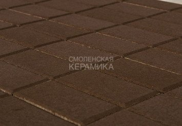 Тротуарная плитка BRAER Прямоугольник Коричневый, 40 мм 1