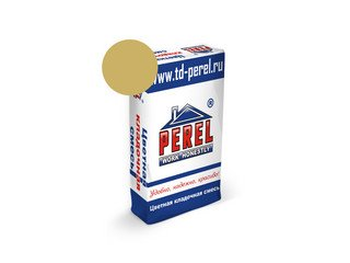 Цветная кладочная смесь Perel SL 0030 кремово-желтая, 50 кг