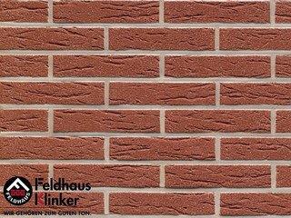 Фасадная плитка Feldhaus Klinker R435DF9 carmesi mana