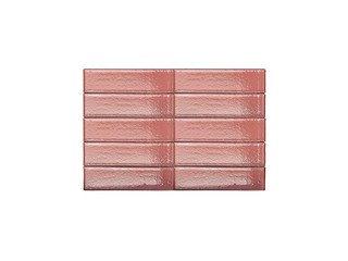 Кирпич керамический глазурованный RECKE GLANZ 1НФ арт. 4-48-00-0-00 красный