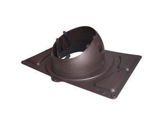 Основание вент. трубы для металл. кровель с профилем до 38мм Base-VT General 125/153 коричневый