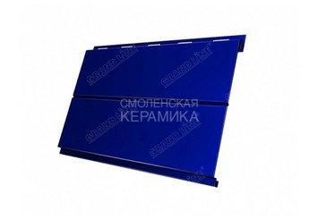 Сайдинг GL Print dp Вертикаль 0,5мм фиолетовый матовый 3