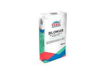 Клеевая смесь для газоблоков PEREL Blokus 0340 серая, 40 кг 1