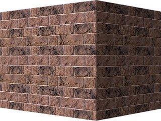 "412-45 White Hills ""Шинон"" (Chinon), темно-коричневый, угловой, Нормативная ширина шва 1,5 см."